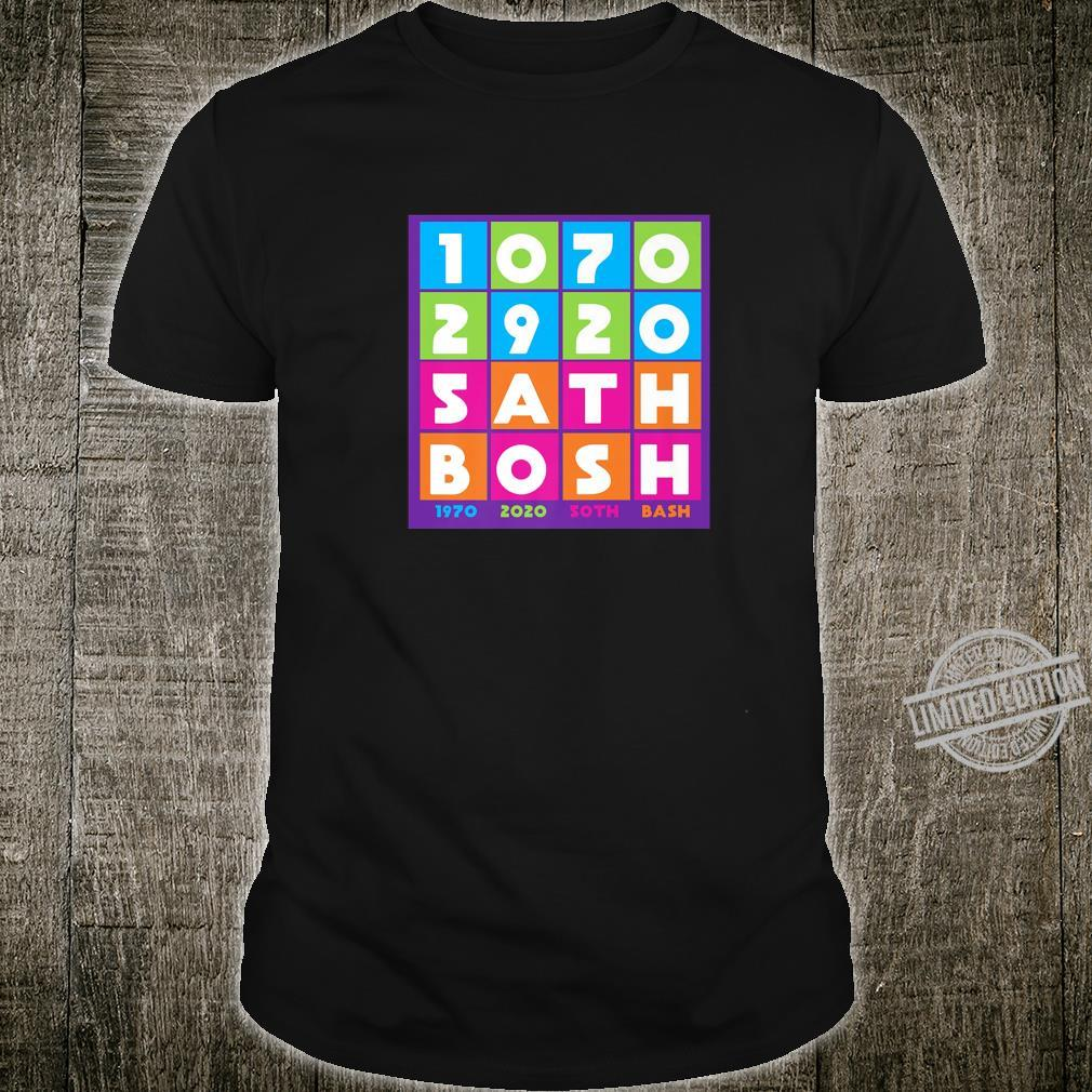 1970 to 2020 50th Anniversary Party Celebration Bash Shirt