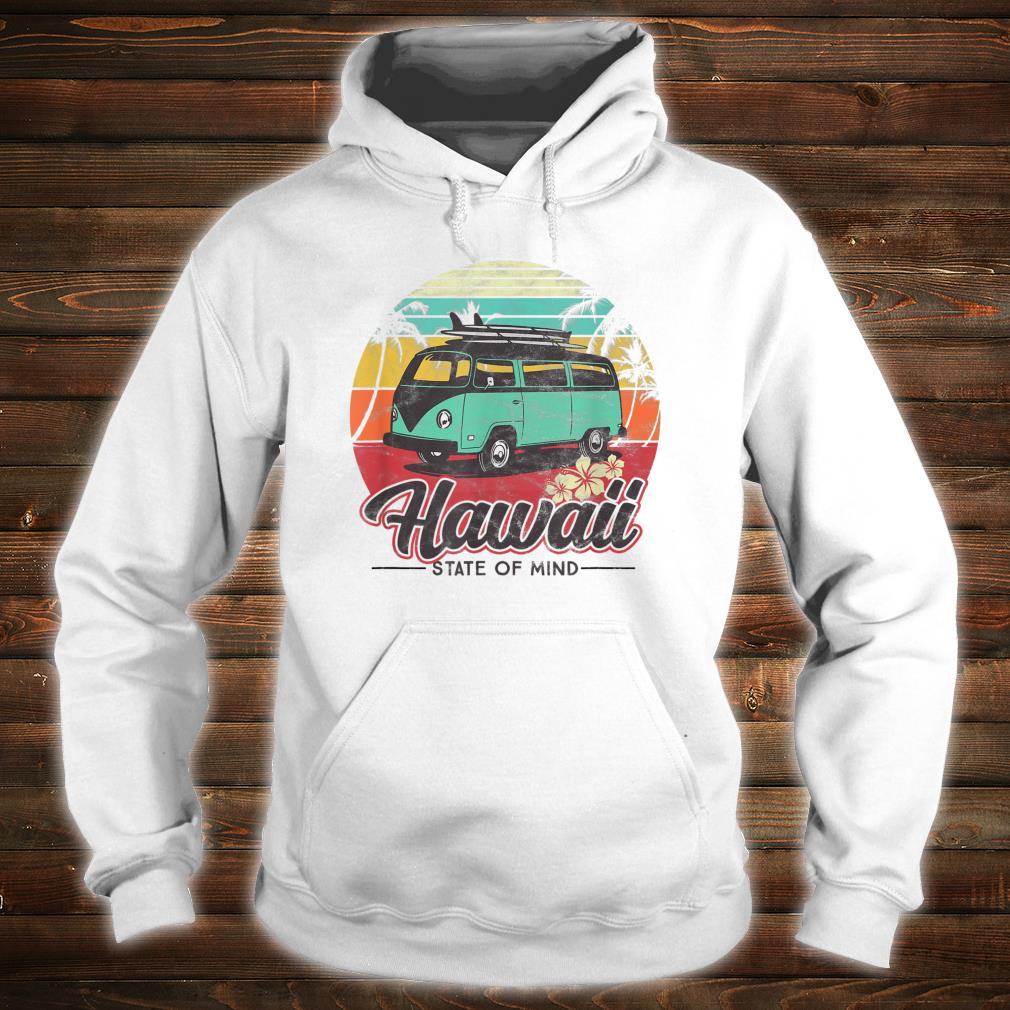 Kahoolawe Surf Van Vintage Hawaiian Maglietta Aloha Hawaii