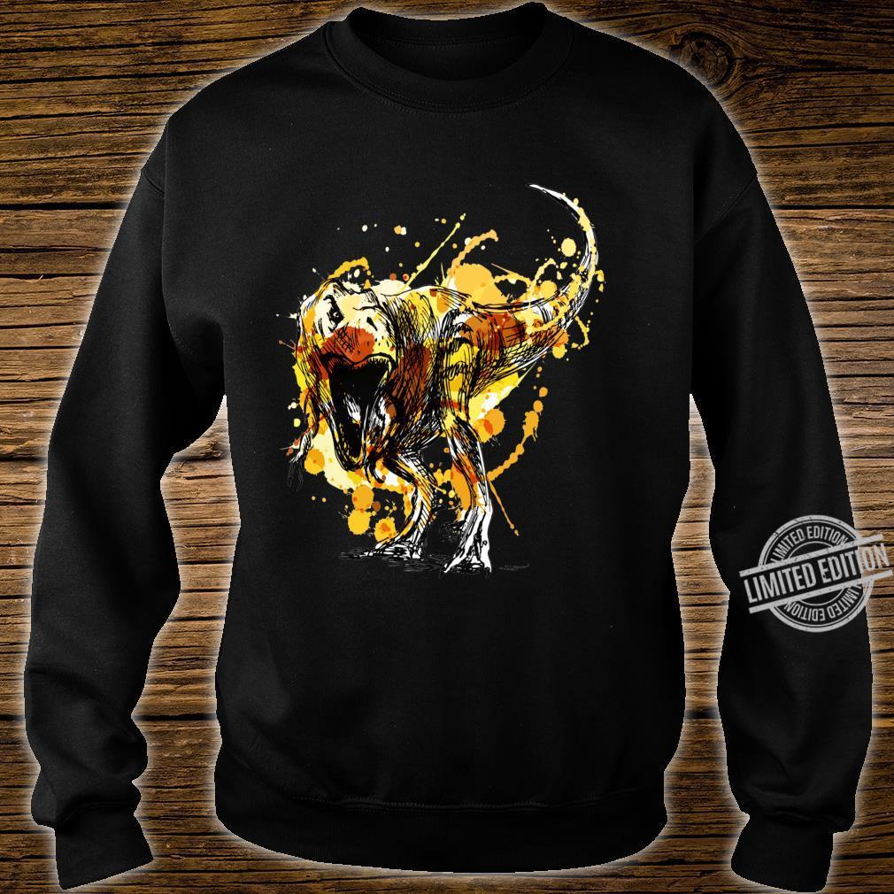 Awesome Prehistoric Dinosaur T Rex Tyrannosaurus Rex Dino Shirt sweater