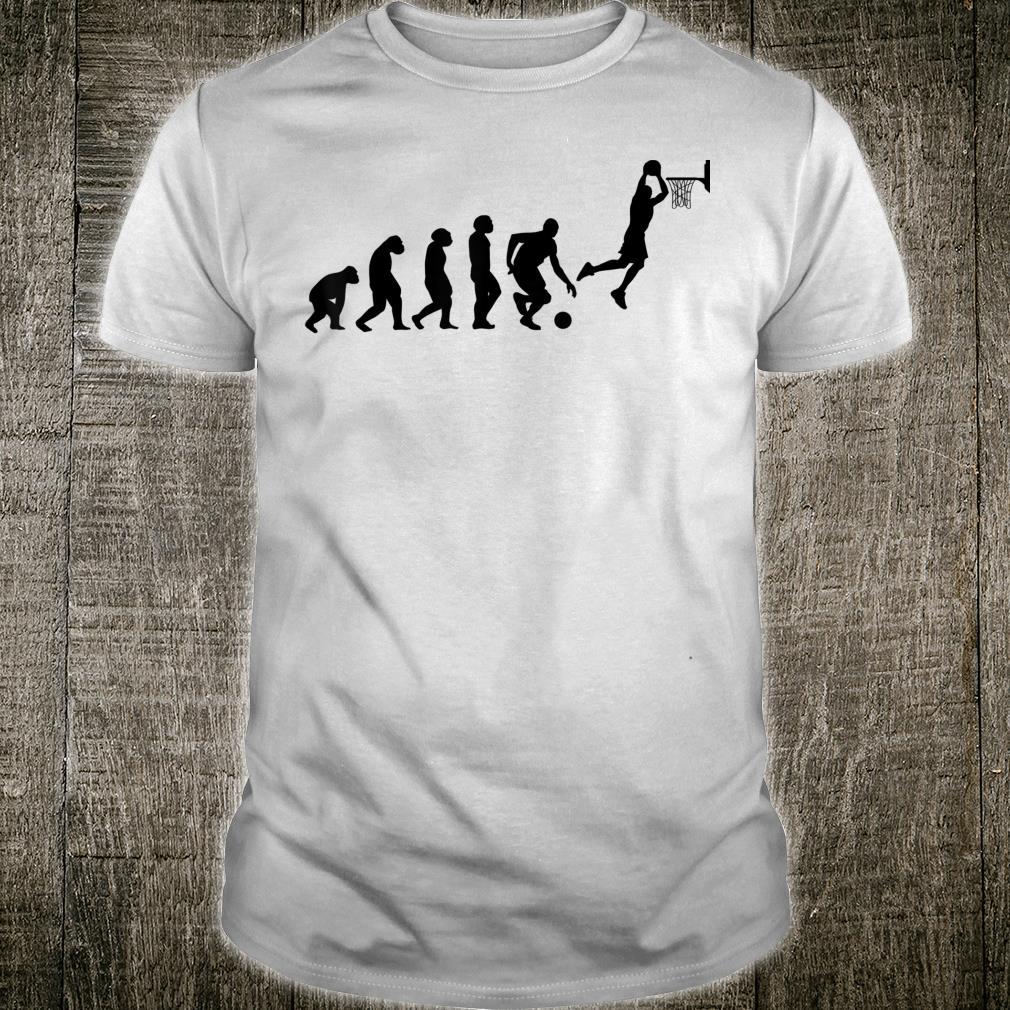 Basketball ball player basketballs USA EVOLUTION BASKETBALL Shirt