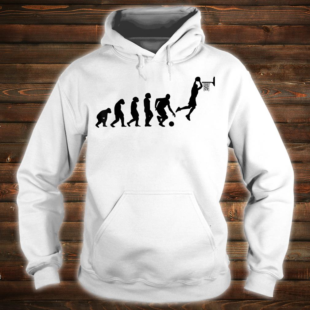 Basketball ball player basketballs USA EVOLUTION BASKETBALL Shirt hoodie