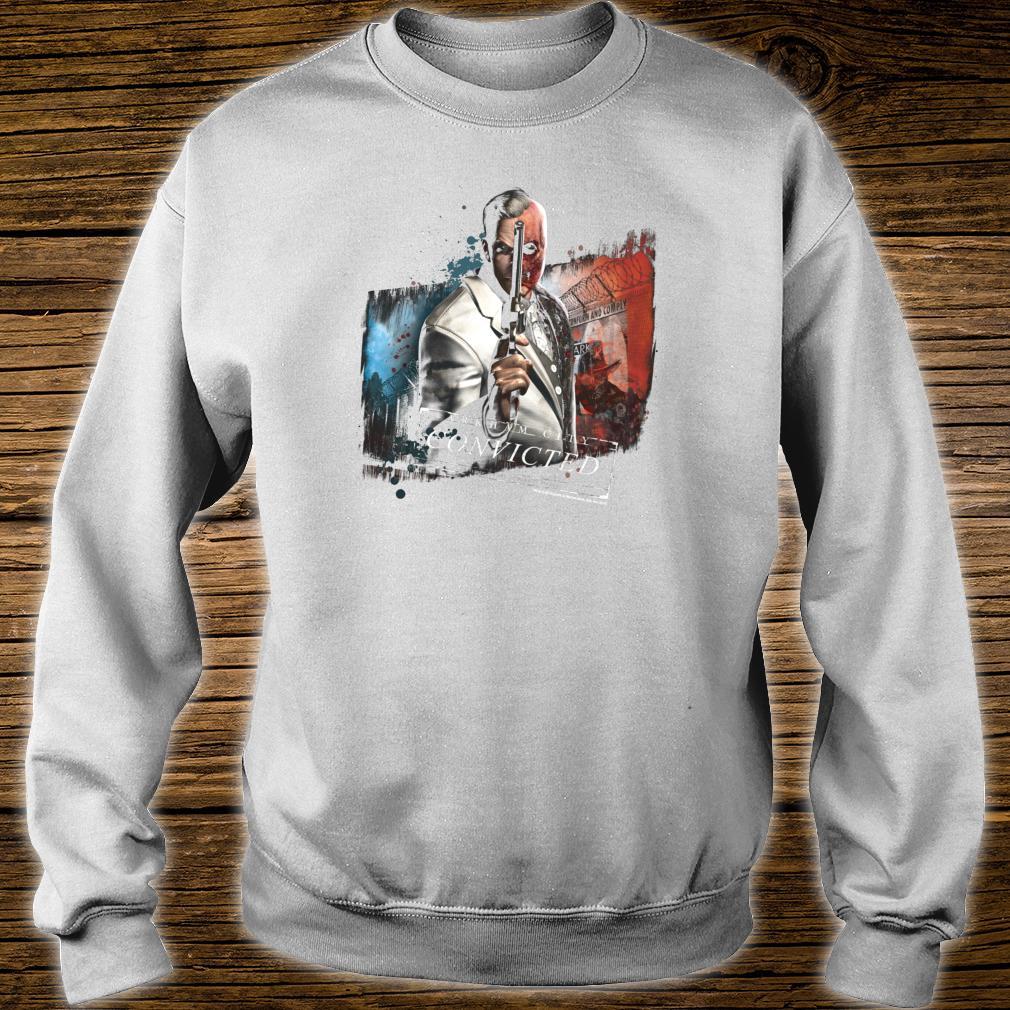 Batman Arkham City TwoFace Shirt sweater