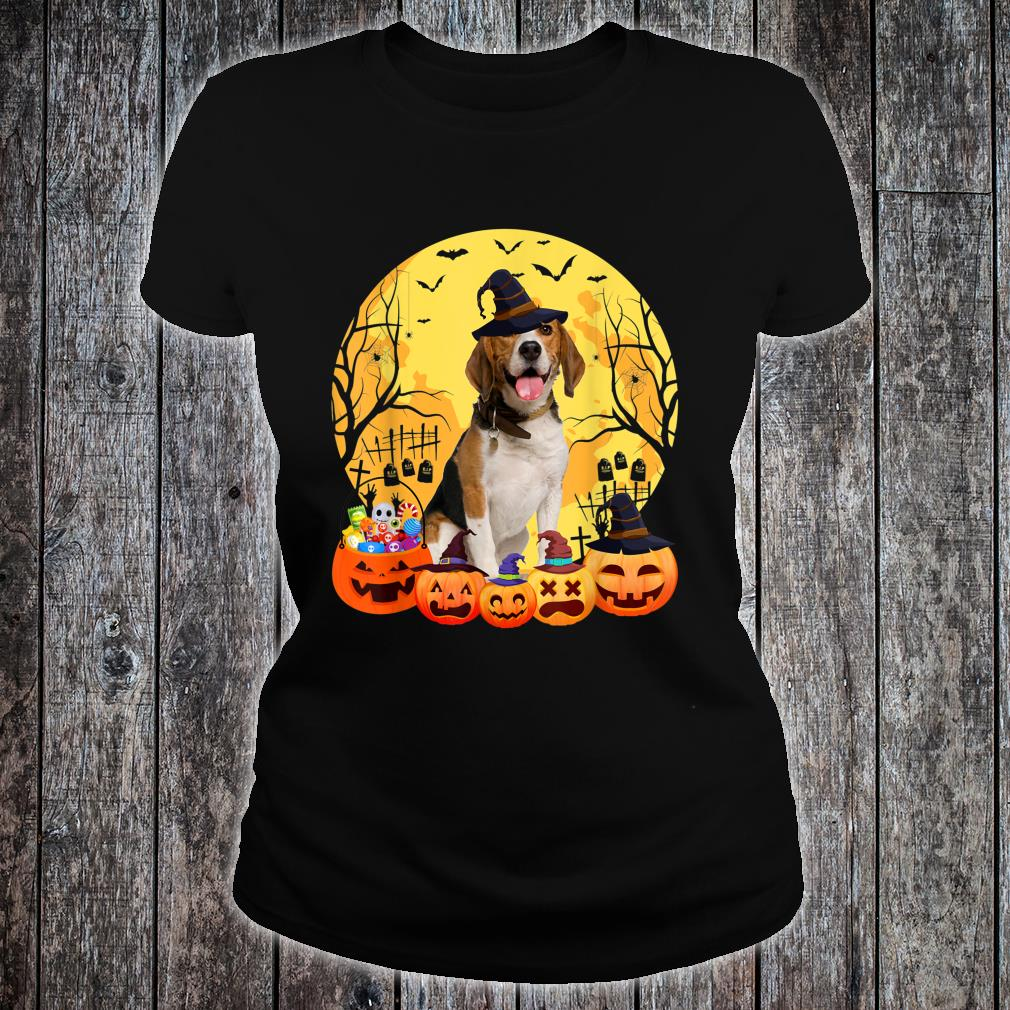 Beagle Dog Halloween Costume Ideas For Family Dad Mom Shirt ladies tee