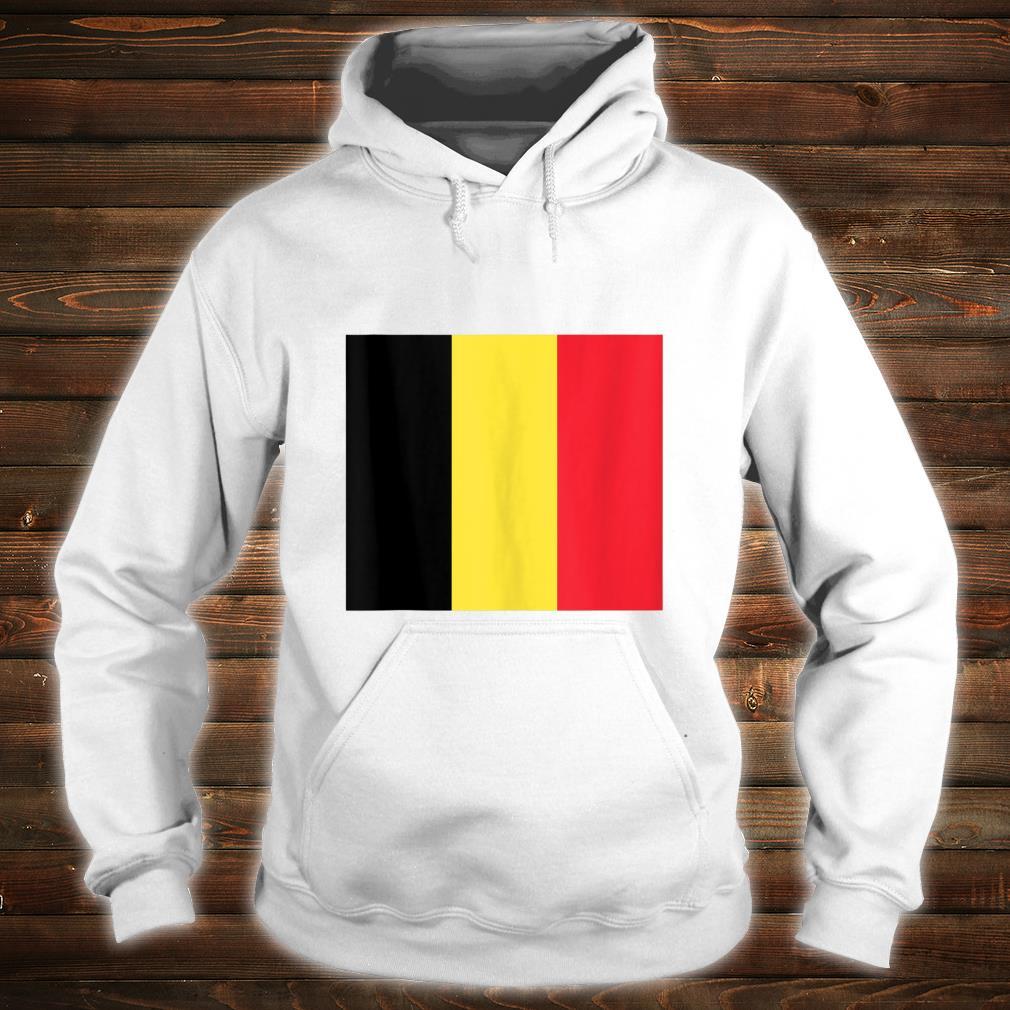 Belgium Flag Jersey Style Vintage Belgian Pride Flags Fan Shirt hoodie