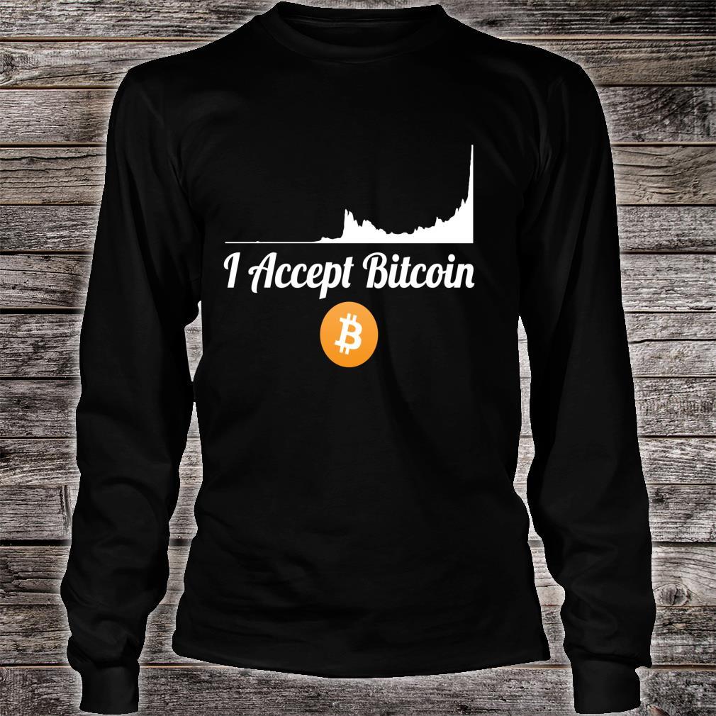 Bitcoin Shirt long sleeved