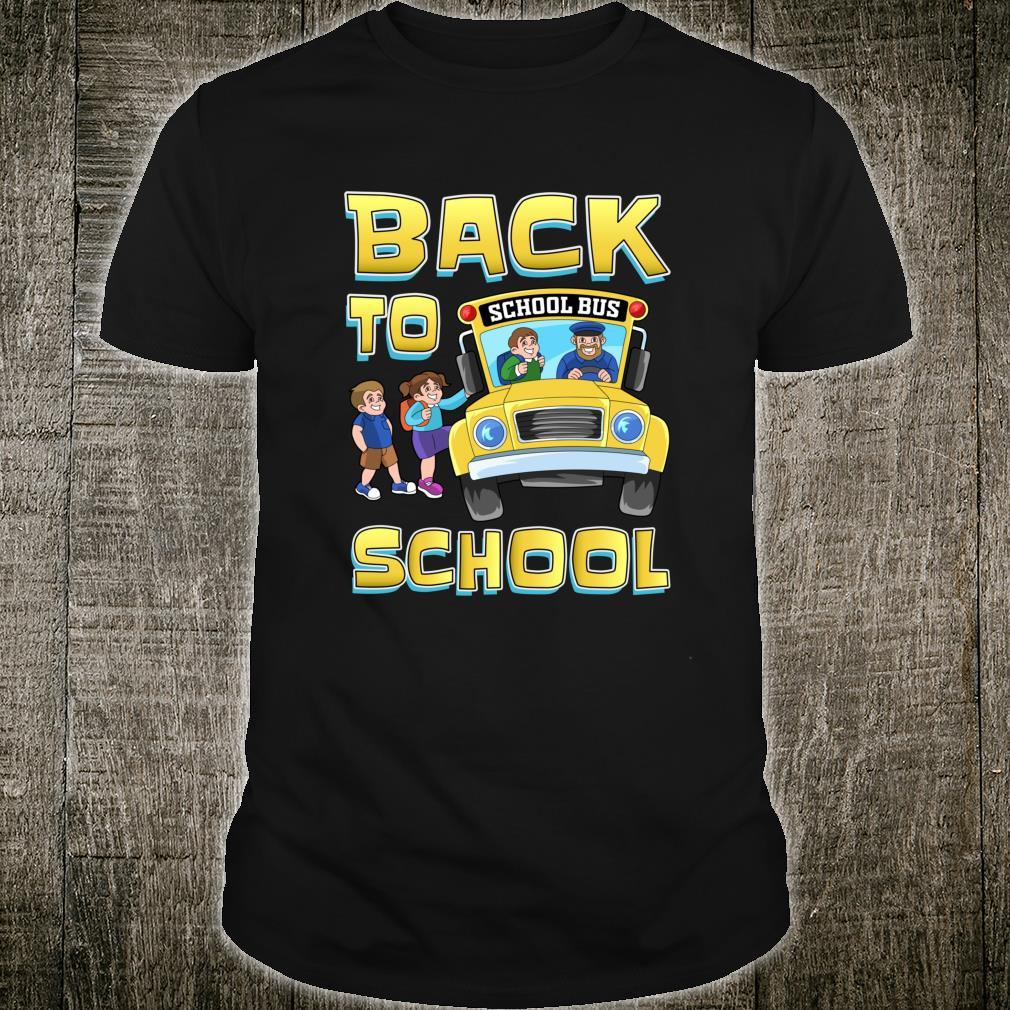 Bus Driver Back To School Shirt