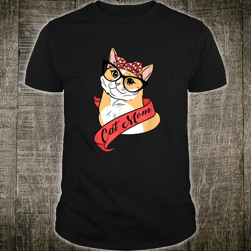 Cat Mom Katzenliebhaber Shirt