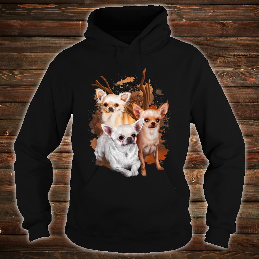 Chihuahua Hund Damen Herren Geschenk Hunderasse Shirt hoodie