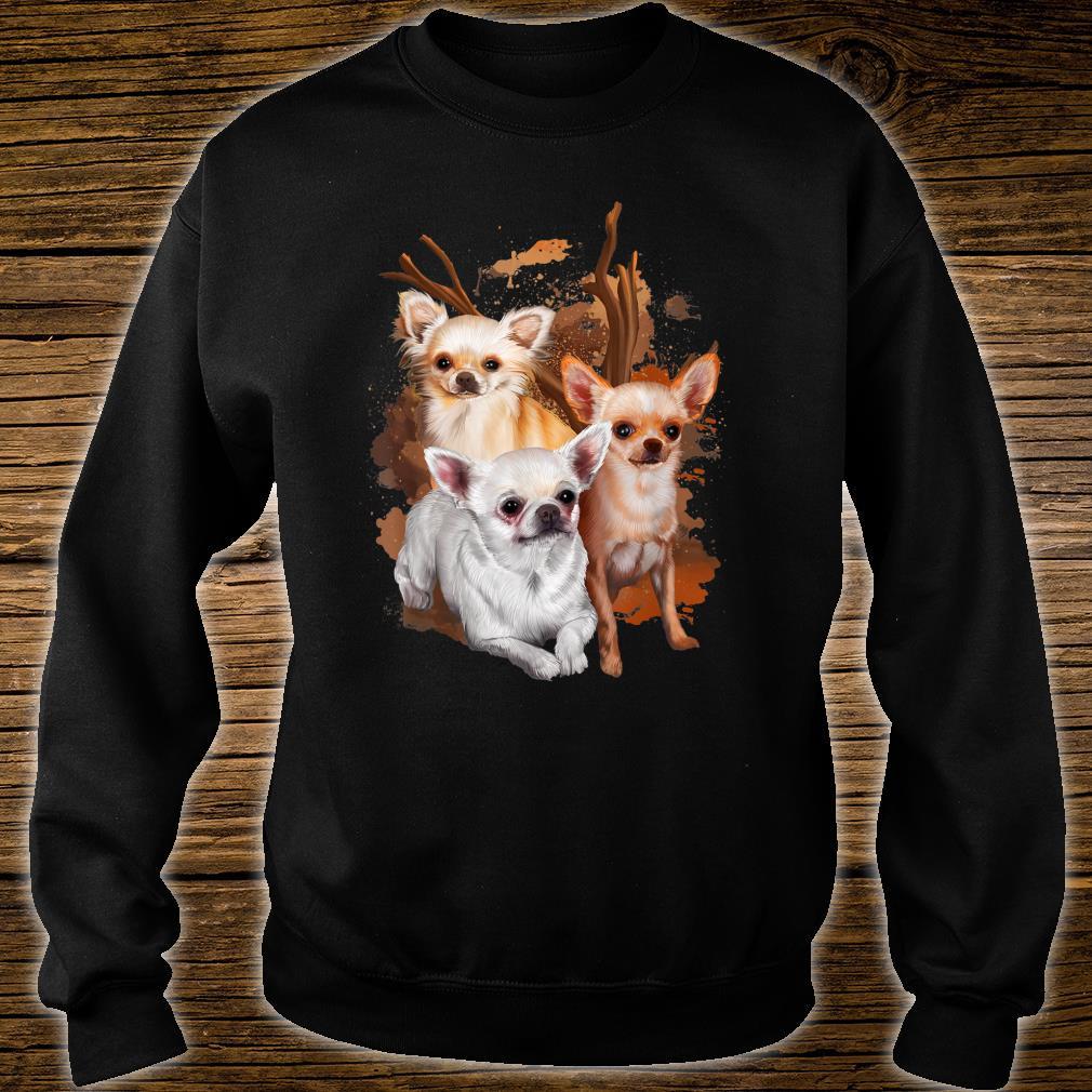 Chihuahua Hund Damen Herren Geschenk Hunderasse Shirt sweater