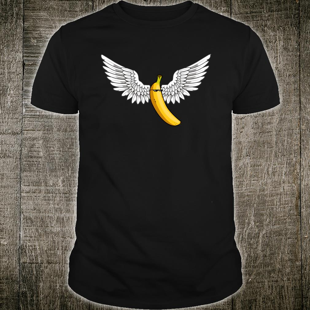 Cool Flying Banana Banana Tattoo Banana For Scale Shirt