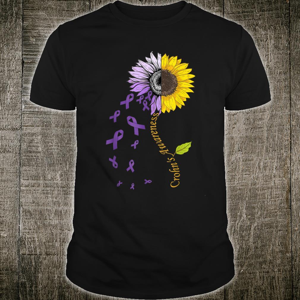 Crohn's Awareness Sunflower Disease Shirt