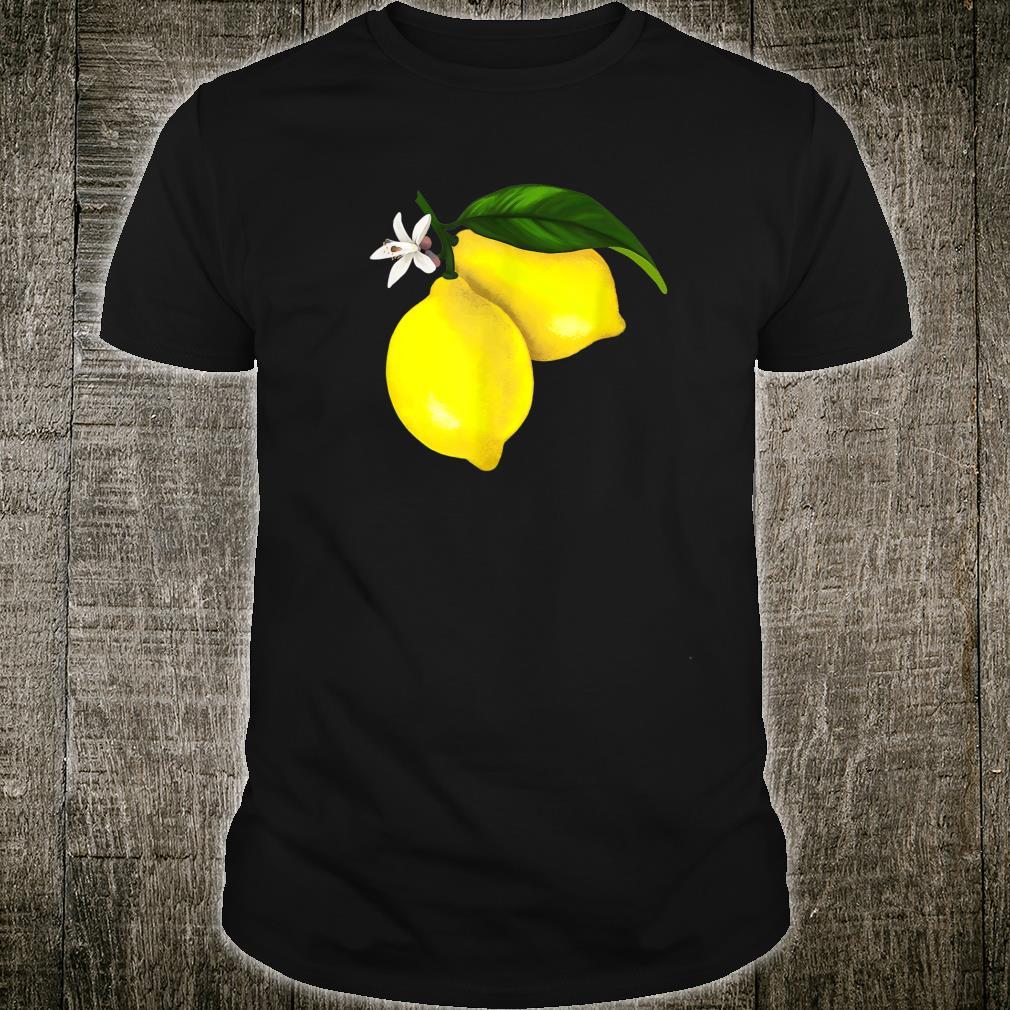 Cute Lemon Fruit Shirt