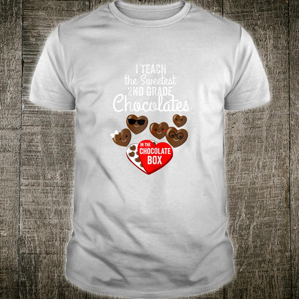Cute Valentines Day Idea for Second Grade Teacher Shirt