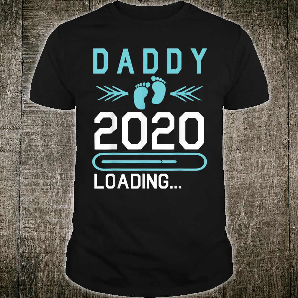 Daddy 2020 Loading Happy First Mother Father Day Dad Shirt