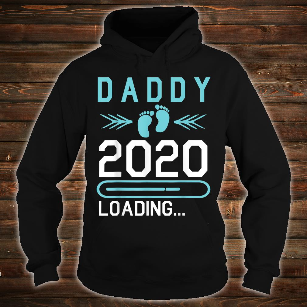 Daddy 2020 Loading Happy First Mother Father Day Dad Shirt hoodie
