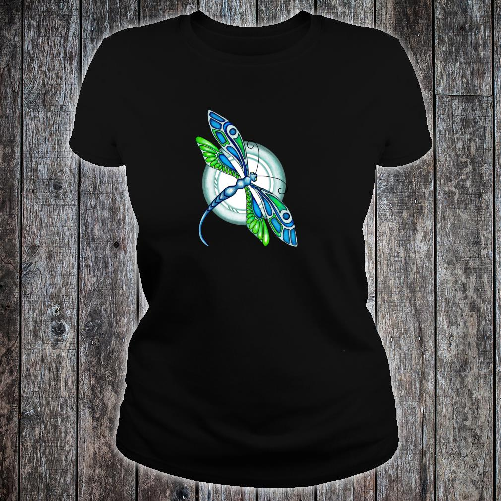 Deco Dragonfly Shirt ladies tee