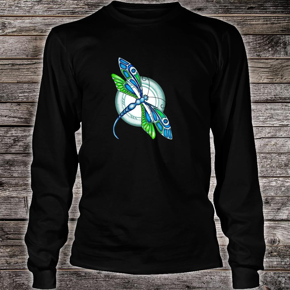 Deco Dragonfly Shirt long sleeved