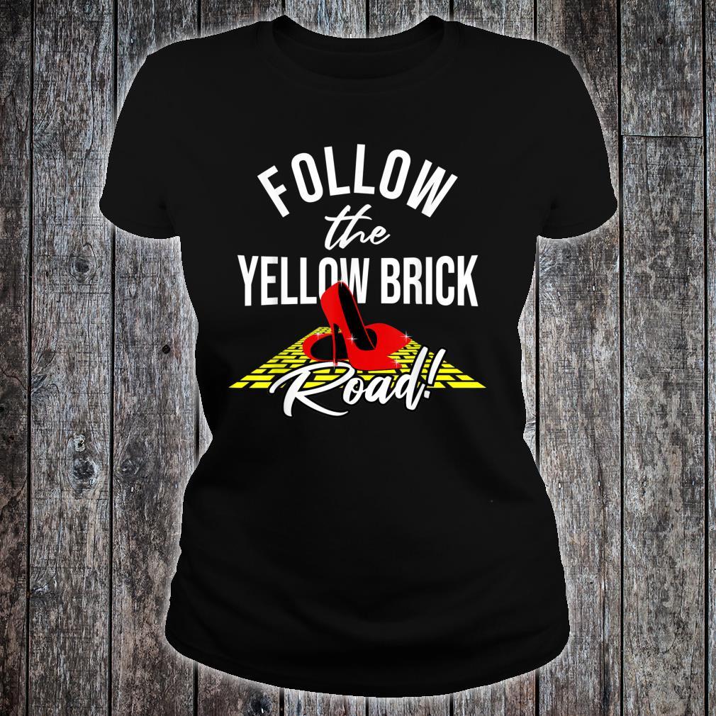 Dorothy and Friends Yellow brick road Shirt ladies tee