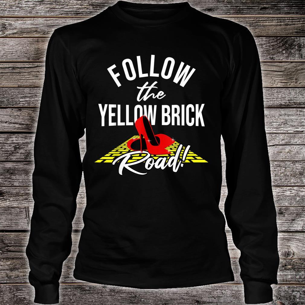 Dorothy and Friends Yellow brick road Shirt long sleeved