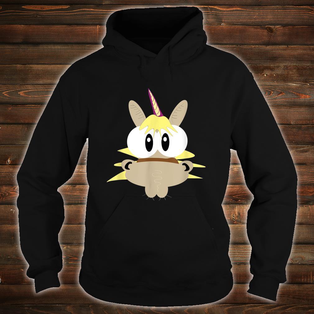Einhorn Pferd mit großen Augen Shirt hoodie