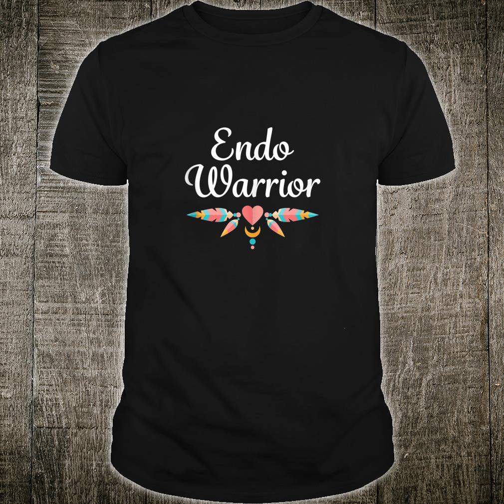 Endo Warrior Endometriosis Infertility Awareness Shirt