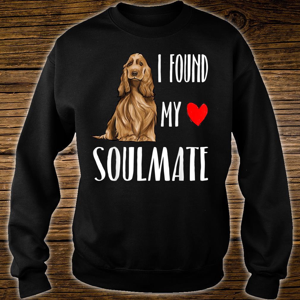 Englischer Cockerspaniel Mein Seelenverwandter Shirt sweater
