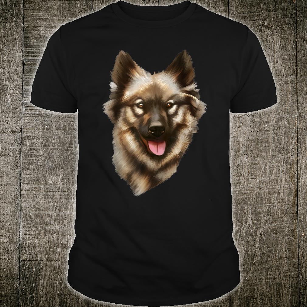 Eurasier Hund Hunderasse Damen Herren Geschenk Shirt