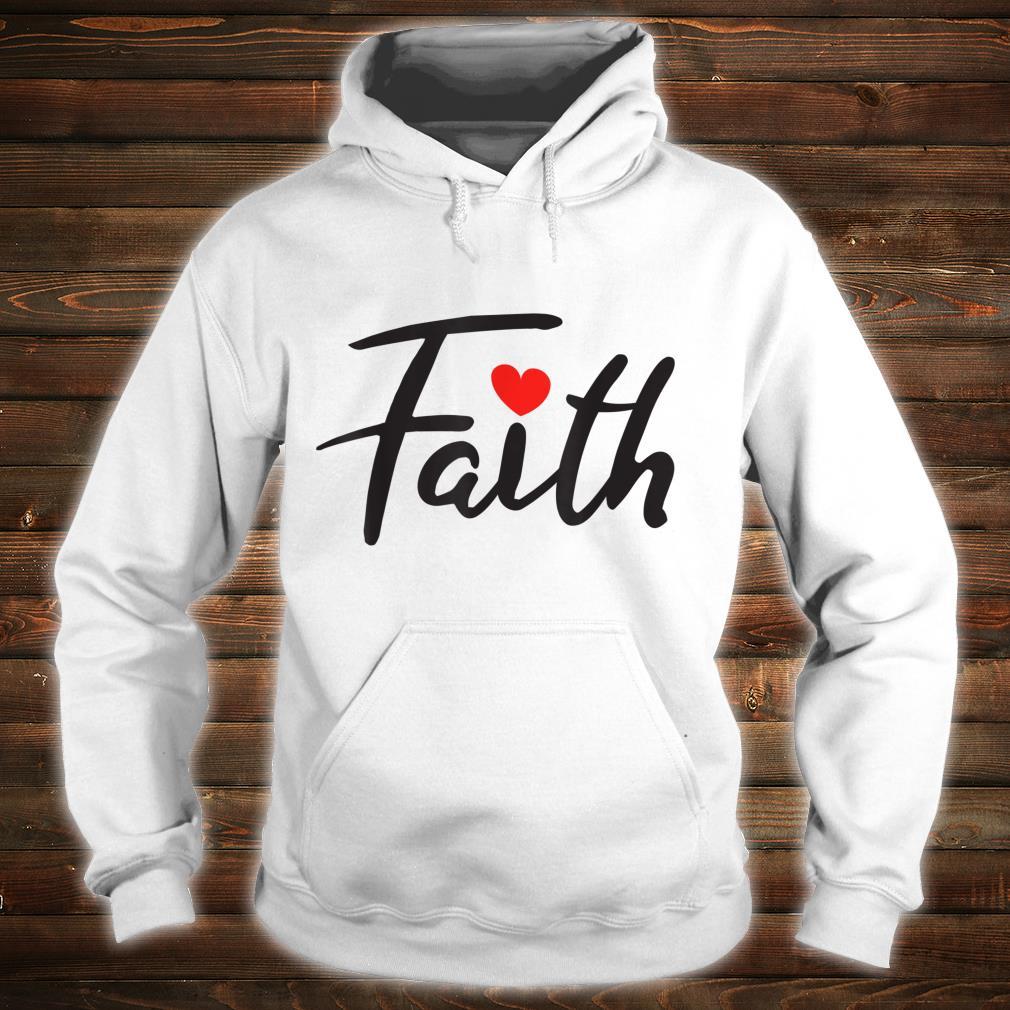Faith Design Shirt hoodie