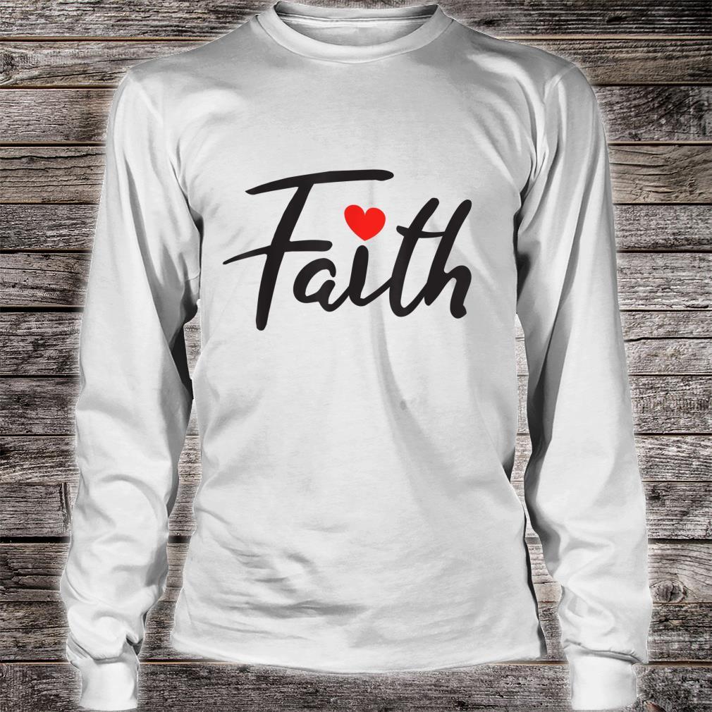 Faith Design Shirt long sleeved