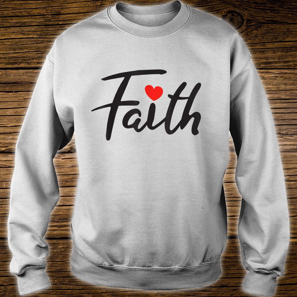 Faith Design Shirt sweater