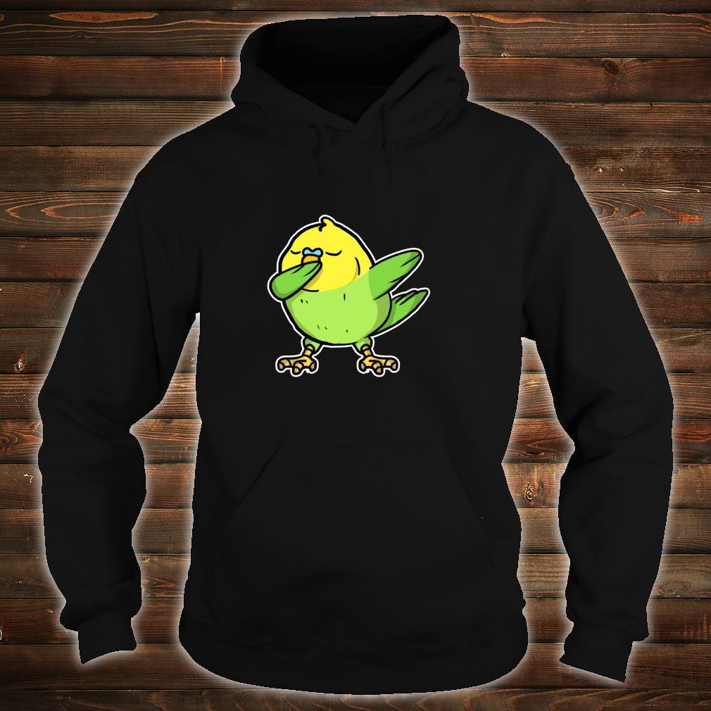 Funny Dabbing Budgie Dab Dance Cool Budgie Bird Shirt hoodie
