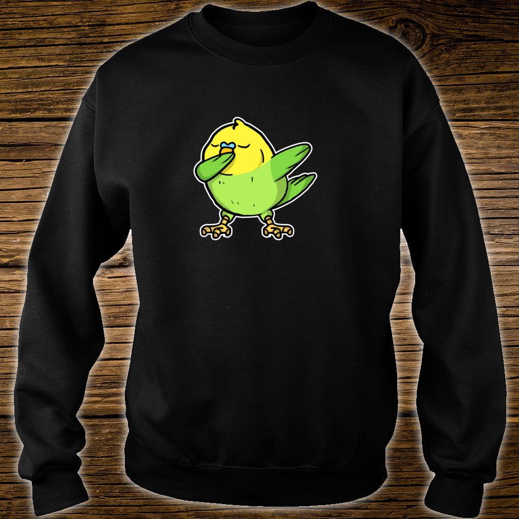 Funny Dabbing Budgie Dab Dance Cool Budgie Bird Shirt sweater