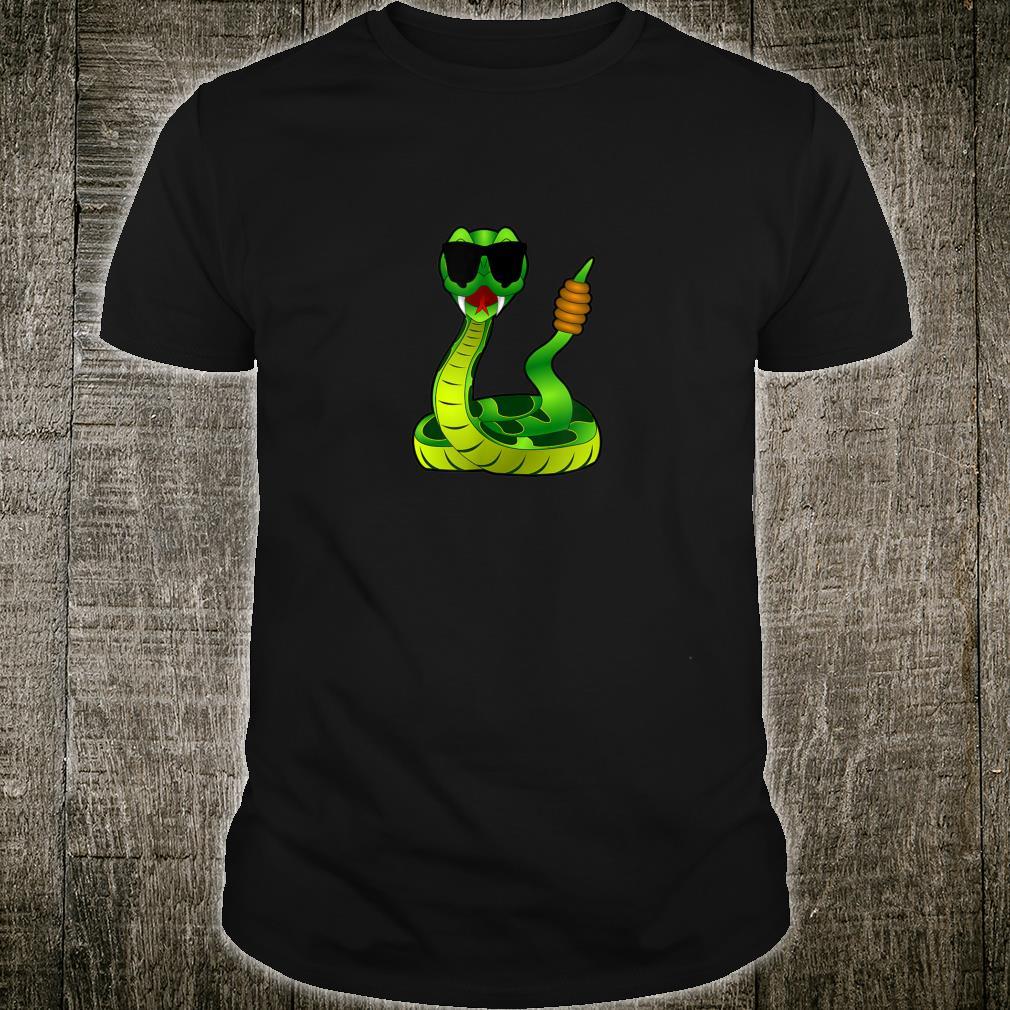 Funny Snake Wearing Sunglasses Shirt