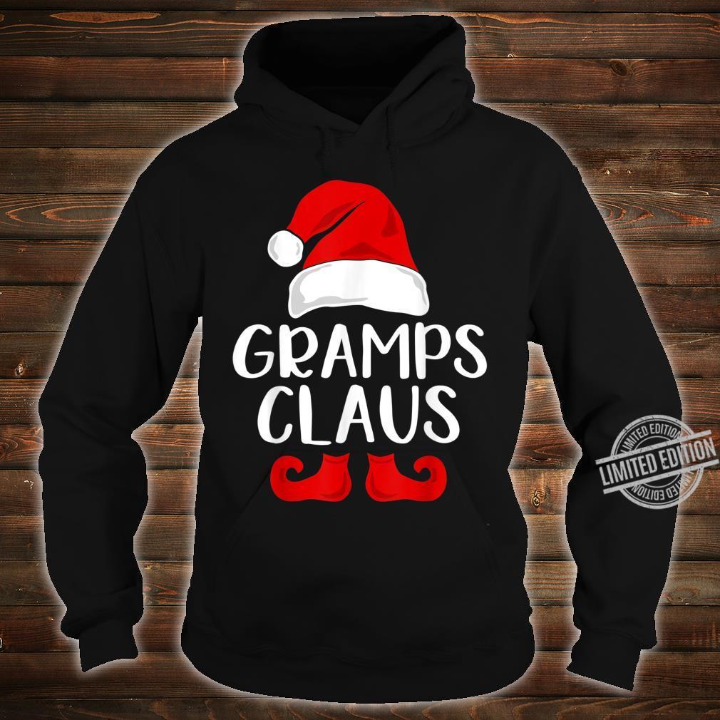 Gramps Claus Grandpa Santa Claus Red Christmas Hat Shirt hoodie