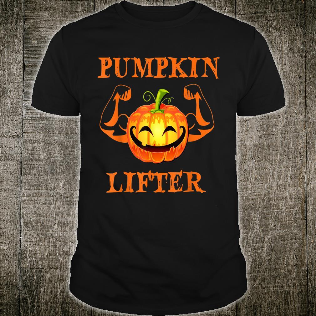 Halloween Pumpkin lifter design Shirt