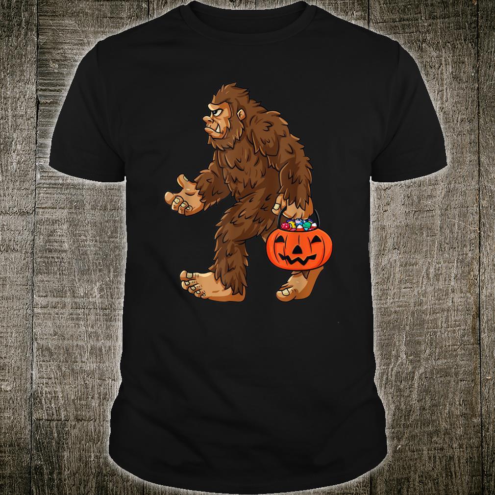 HalloweenBigfootHaltung Jack O Lantern Shirt