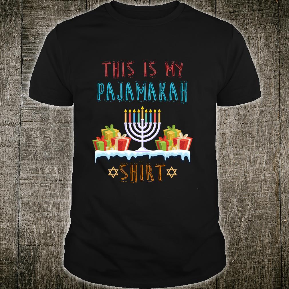 Hanukkah Pajama This Is My Pajamakah Shirtorah Shirt