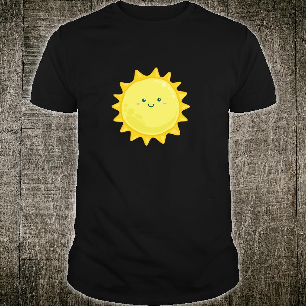 Happy Smiling Sun Japanese Kawaii Style Shirt