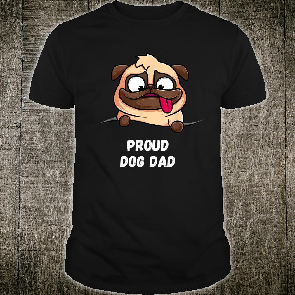 Herren Stolzer Hundepapa Geschenkidee Shirt