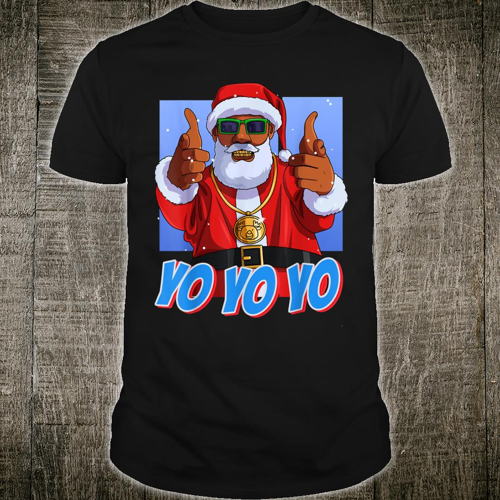 Hip Hop Santa Claus Gangster Christmas Shirt