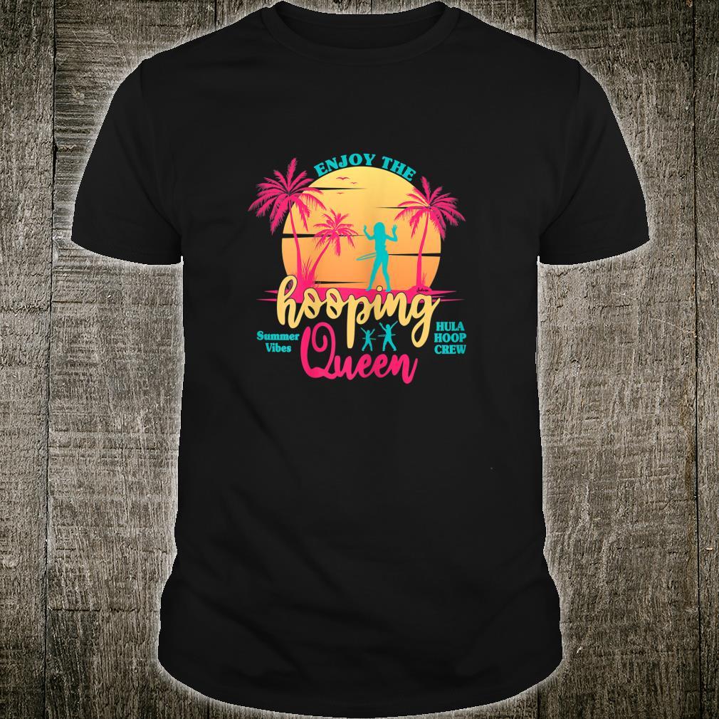 Hula Hoop Hullern Vintage Girls Dance Girl hooping Shirt