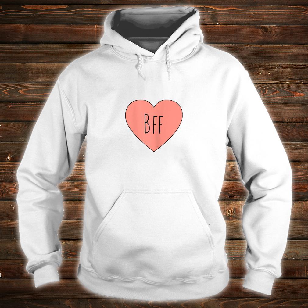 I Love My BFF Best Friend Heart Cute PInk Shirt hoodie