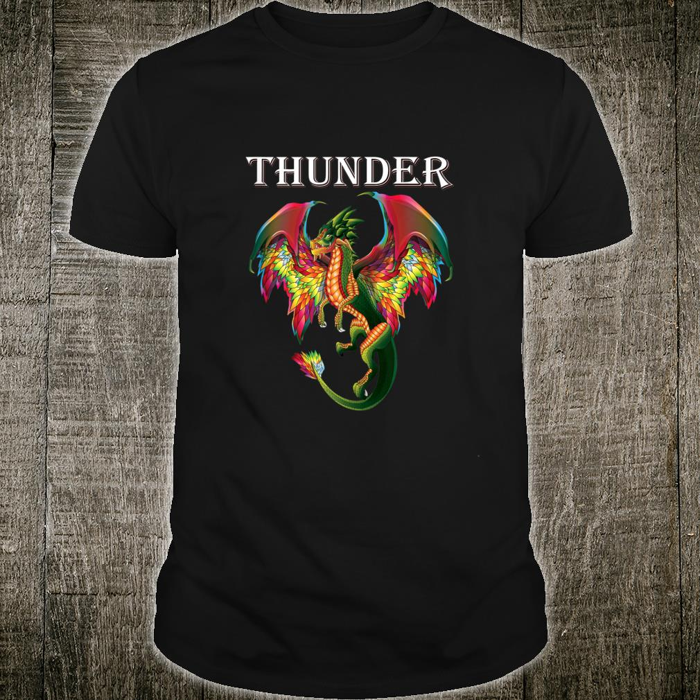 Imagine You Are A Thunder Dragon Breathing Fire With Wings Shirt