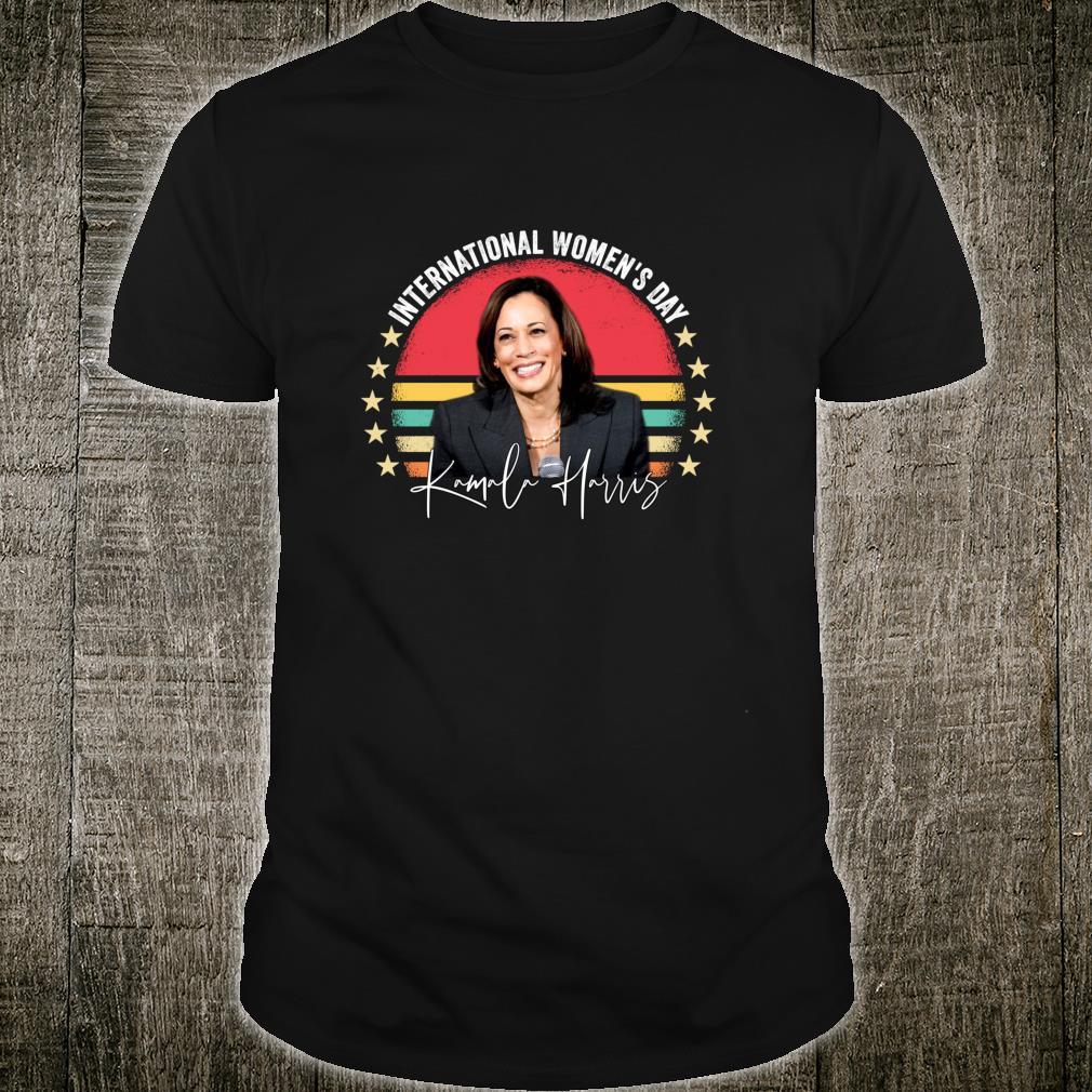 International's Day 2021 Kamala Harris Shirt