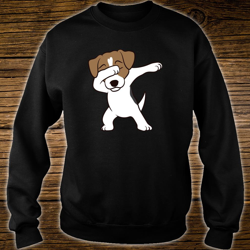 Jack Russell Terrier Hunde Dabbing Jack Russell Shirt sweater