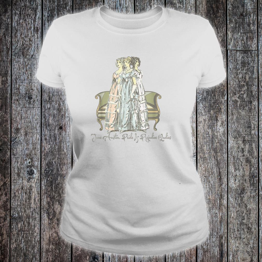 Jane Austen & Mr. Darcy Book Club Fans Quotes Collectors Shirt ladies tee