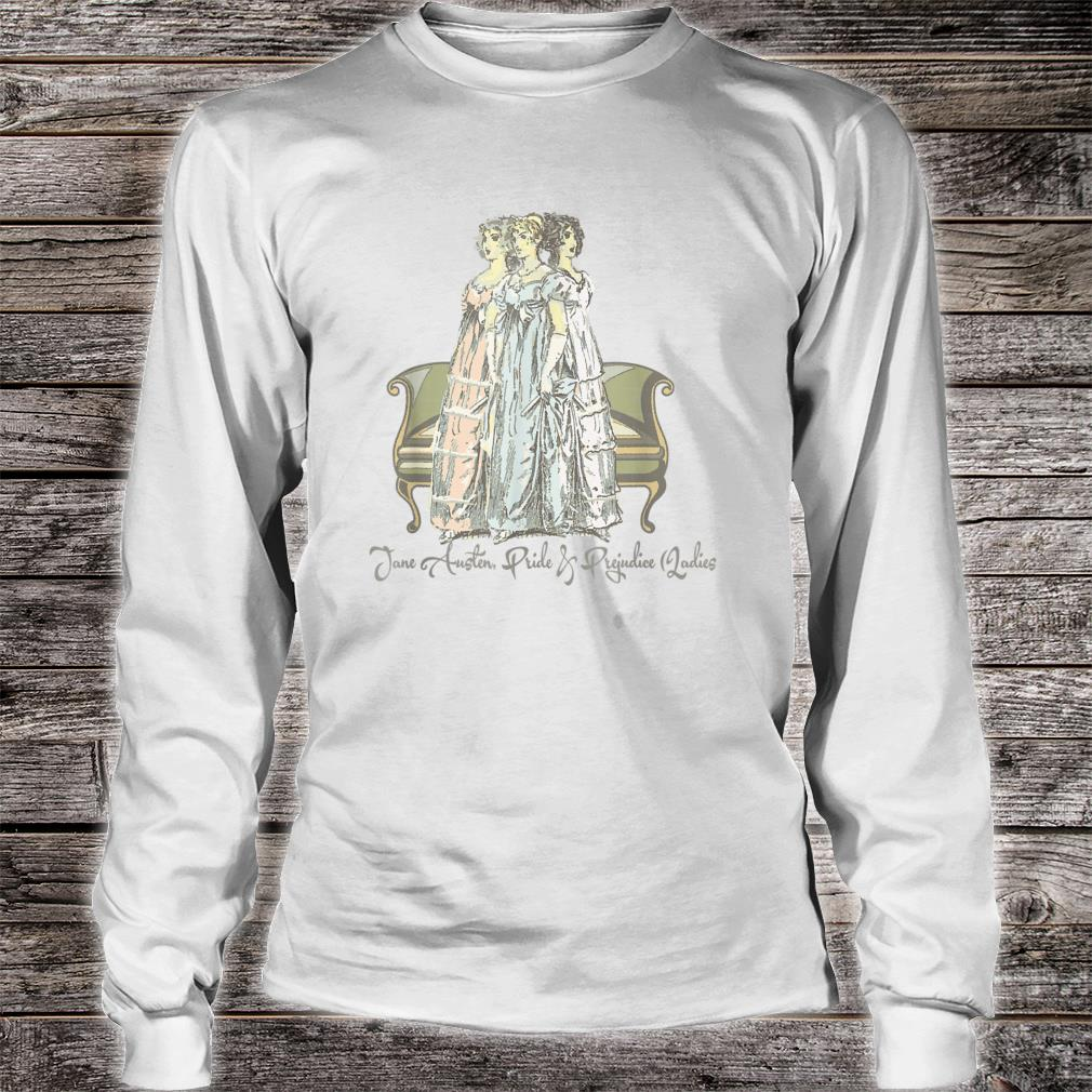 Jane Austen & Mr. Darcy Book Club Fans Quotes Collectors Shirt long sleeved