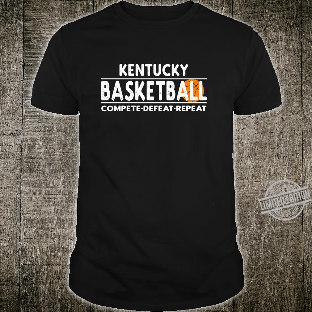 Kentucky Basketball Compete Defeat Retreat Shirt