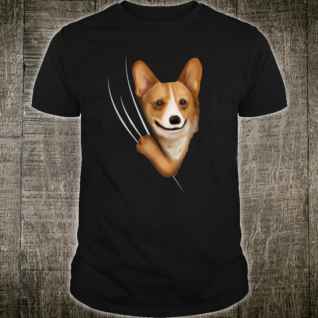 Kids Corgis Clothes From Inside Outfit Corgi Shirt