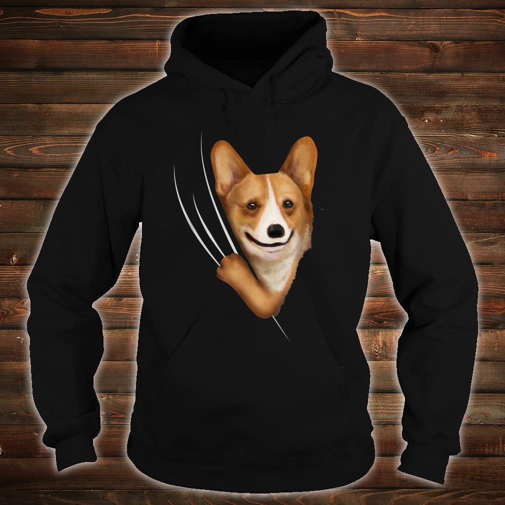 Kids Corgis Clothes From Inside Outfit Corgi Shirt hoodie
